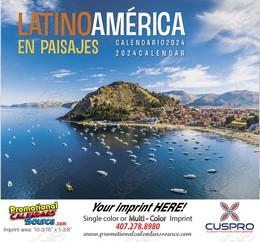 Latinoamerica en Paisajes Promotional Calendar 2018 Stapled