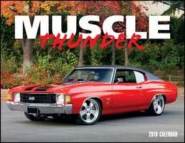 Muscle Thunder Promotional Calendar 2018 Window