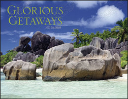 Glorious Getaways Promotional Calendar 2018 Window