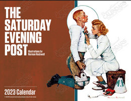 The Saturday Evening Post Promotional Calendar 2018 Window