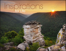 Inspirations for Life Promotional Calendar 2018 Window