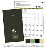 goingreen(R) Monthly Pocket Planner Promotional Calendar 2018