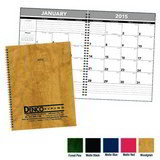 Hardcover Monthly Planner Promotional Calendar 2017