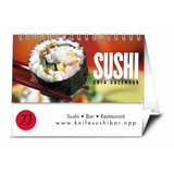 Sushi Platter Promotional Calendar 2017