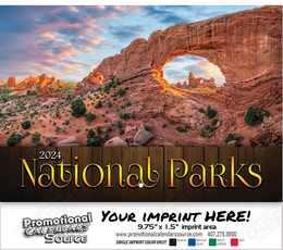 National Parks Wall Calendar 2018 - Stapled