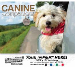 Canine Companions Wall Calendar 2018 - Stapled