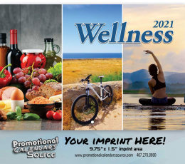 Wellness Wall Calendar 2017 - Stapled