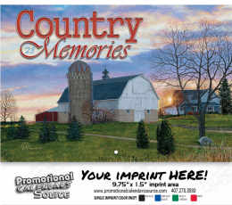 Country Memories Wall Calendar 2018 - Stapled