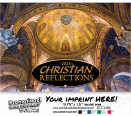 Christian Reflections Wall Calendar 2018 - Stapled