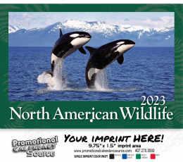 Wildlife Wall Calendar 2018 - Stapled