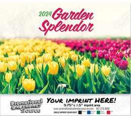 Garden Splendor Wall Calendar 2018 - Stapled