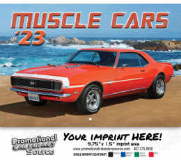 Muscle Cars Wall Calendar 2018 - Stapled