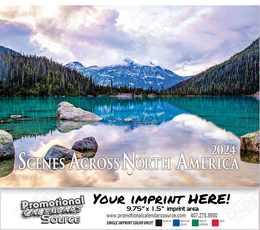 Scenes Across America Wall Calendar 2018 Stapled