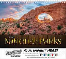 National Parks Wall Calendar 2018 - Spiral