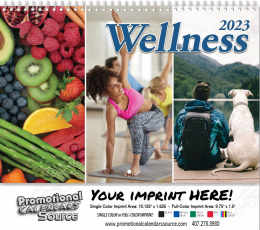Wellness Wall Calendar 2017 - Spiral