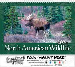 North America Wildlife Wall Calendar 2018 - Spiral