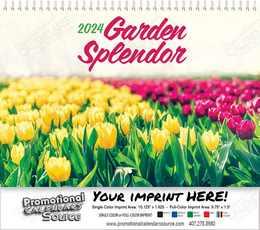 Garden Splendor Wall Calendar 2018 - Spiral
