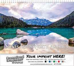 Scenes Across America Wall Calendar 2018, Spiral