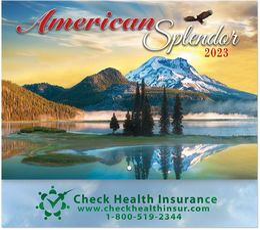 America Splendor Promotional Wall Calendar 2018 - Stapled