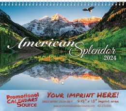 America Splendor Wall Calendar 2018 - Spiral