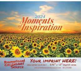 Inspirations Promotional Wall Calendar 2017 - Stapled