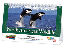 Wildlife Promotional Desk Calendar 2018