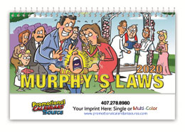 Murphy s Law Promotional Desk Calendar 2018