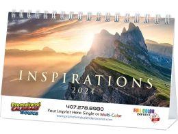 Inspirations Promotional Desk Calendar 2018