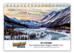 Scenes Across America Deluxe Desk Promotional Calendar 2018 - Scenic