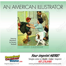 An American Illustrator Promotional Calendar 2018