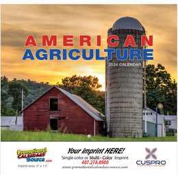 American Agriculture Promotional Calendar 2018
