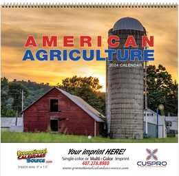 American Agriculture 2018 Wall Calendar - Spiral