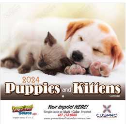 Puppies & Kittens Promotional Calendar 2018