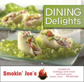 Dining Delights Promotional Calendar 2017