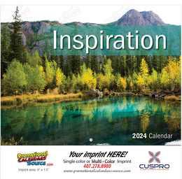 Inspiration Promotional Calendar 2017 - Stapled