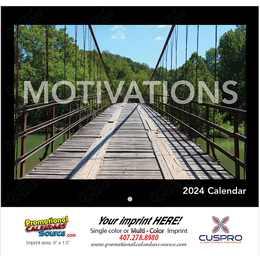 Motivations Promotional Calendar 2017 - Stapled