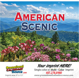 American Scenic Promotional Calendar 2018 - Stapled