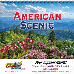 American Scenic Promotional Wall Calendar 2018 Spiral