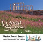 World Scenic Promotional Calendar 2018 - Stapled