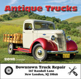 Antique Trucks Promotional Calendar 2018 - Stapled