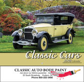Classic Cars Promotional Calendar 2018 - Stapled