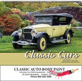 Classic Cars Promotional Calendar 2018 Spiral