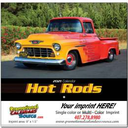 Hot Rods Promotional Calendar 2018 - Stapled