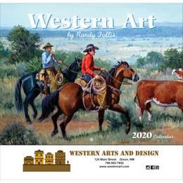 Western Art Promotional Calendar 2018 - Stapled