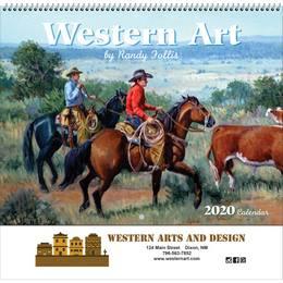 Western Art 2018 Promotional Calendar - Spiral