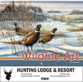 Wildlife Art 2018 Promotional Calendar - Spiral
