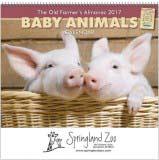 The Old Farmer's Almanac Baby Animals Calendar