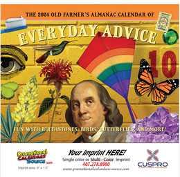 Everyday Advice Home Hints Calendar