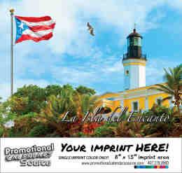 La Isla Del Ecanto Puerto Rico Calendar - Spanish/English Bilingual