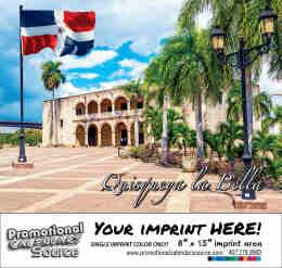 Dominican Republic Calendar - Calendario Republica Dominicana Bilingue